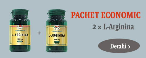 Pachet 2 x L-Arginina 1000