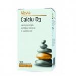 Calciu + Vitamina D3 formula citrat, 30 comprimate