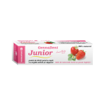 VivaNatura Pasta de Dinti pentru Copii GennaDent - Junior cu Capsuni, 80 ml