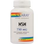 MSM (Metilsulfonilmetan), 750mg, 90 capsule - Secom