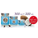 Ulei de Cocos - Pachet Promo - 300 + 200 + CADOU 40 ml