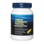 Triple Strength Fish Oil Resveratrol gnc