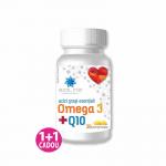 Omega 3 + Q10, 30 comprimate
