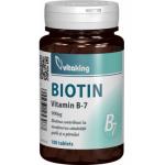 Vitamina B7 (Biotina) 900 mcg, 100 comprimate