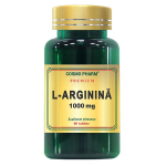 L-Arginina - 1000mg Premium, 60 tablete