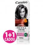 Cameleo  -  Henna Creme -  Castaniu Rubin 6.6 - Vopsea vegetala pentru par  fara amoniac si oxidanti