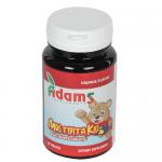 MultiVitaKid - Multivitamine pentru copii cu gust de Portocale, 30 tablete masticabile