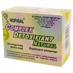 Complex detoxifiant natural, 40 comprimate