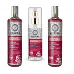Set PROMO Hidratare Intensa Par - Sampon + Balsam + Ser - Trandafir Arctic, Lotus - Ingrediente Certificate Organic
