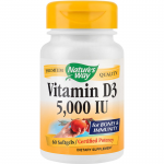 Secom Nature's Way Vitamina D3 5000 UI, 60 CAPSULE MOI