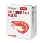 Super Omega 3-6-9 Krill Oil, 30 capsule