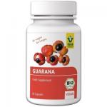 RAAB Vitalfood Guarana BIO 500mg, 80 capsule vegane