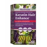 ResVitále Keratin Hair Enhance™ cu Biotina si Resveratrol, 60 tablete