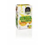 Ceai GINGER & LEMON – 100% ecologic, 16 plicuri