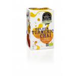 Ceai GOLDEN TURMERIC CHAI – 100% ecologic, 16 plicuri
