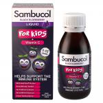 Sambucol Sirop pentru Copii, + Vitamina C + Zinc, Sirop, 120 ml