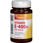 Vitaking Vitamina E Naturala 400 UI, 60 capsule
