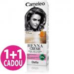 Cameleo  -  Henna Creme - 7.0 Blond - Vopsea vegetala pentru par  fara amoniac si oxidanti, promotie 1+1 gratis