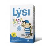 Omega-3 pentru copii - Children's Omega-3 cu Vitamina D3 - capsule masticabile