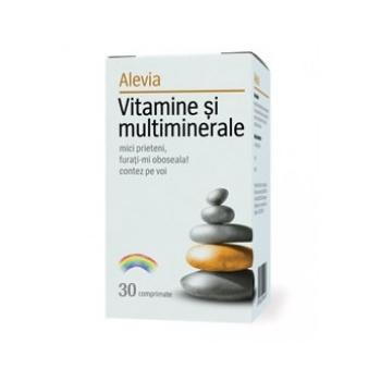 Vitamine si multiminerale, 30 comprimate