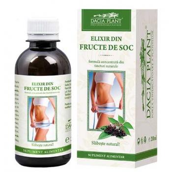 Elixir din fructe de soc pentru slabit