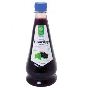 Sirop natural de coacaze negre