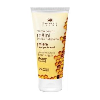 Crema intens hidratanta pentru maini cu miere si laptisor de matca