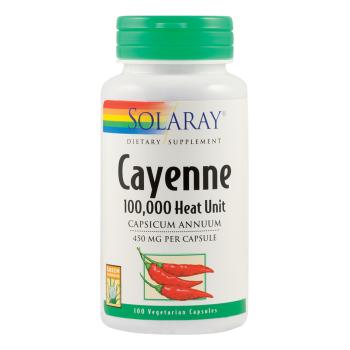Cayenne (Ardei iute) 450 mg