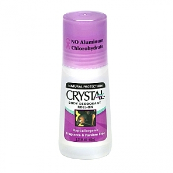 Crystal Deodorant Roll-on Natural Antiperspirant