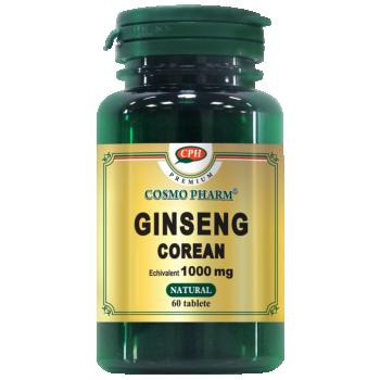 Ginseng Corean 1000 mg Premium