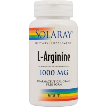 l arginine 1000mg solaray secom