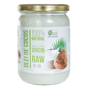 Ulei de cocos virgin presat la rece