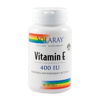 Solaray Vitamin E 400UI, 50 capsule moi