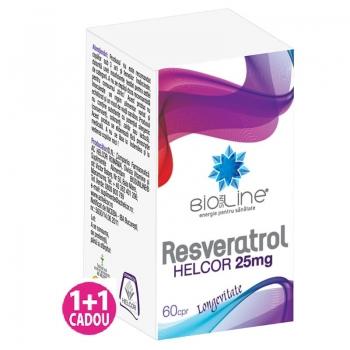 Resveratrol 25 mg, 60 comprimate