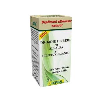 Drojdie de bere cu AlfAlfa si Siliciu Organic