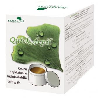 Quick Depil - Ceara Naturala Depilatoare Hidrosolubila