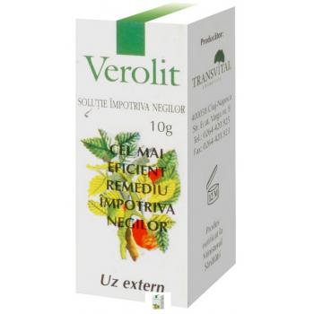 Verolit - Solutie Impotriva Negilor - Tarnsvital Cosmetics