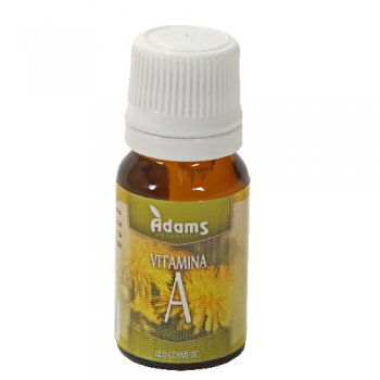 Adams Vision Vitamina A Naturala - Ulei cosmetic, 10 ml