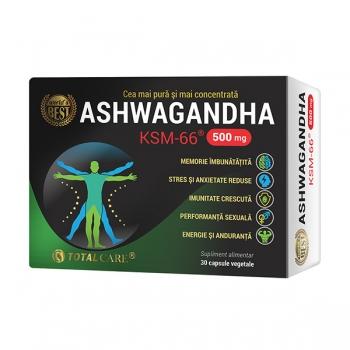 ASHWAGANDHA® KSM-66 500mg, 30 capsule