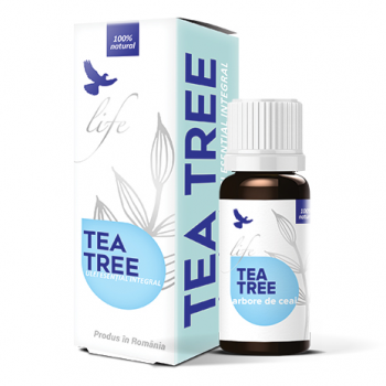 Ulei Esențial Integral de Tea Tree (Arbore de ceai), 100% natural, 10 ml