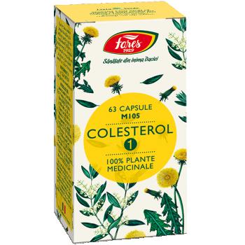 Colesterol 1, 63 capsule, Fares
