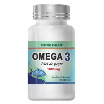 Cosmopharm Omega 3 Ulei Peste 1000mg, 30 capsule