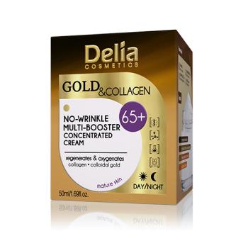 Crema concentrata Aur si Collagen - 65 ani , antirid si fermitate, 50 ml