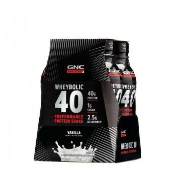 AMP Wheybolic 40 cu Aroma de Vanilie, 414 ml