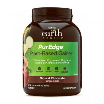 Earth Genius PurEdge Plant-Based Gainer cu Aroma de Ciocolata Naturala, 2030g