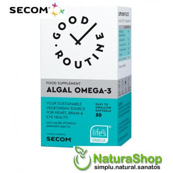 Good Routine by Secom - Algal Omega 3, 30 capsule
