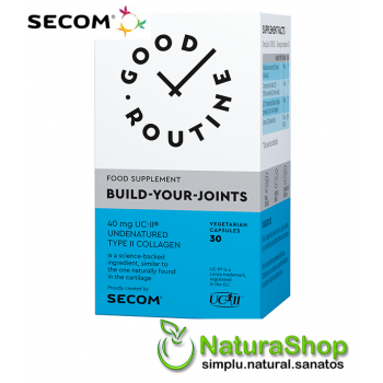 Good Routine by Secom - Build Your Joints, 30 capsule vegetale