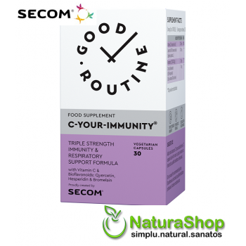 Good Routine by Secom - C Your Immunity, 30 capsule vegetale