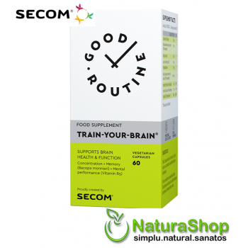 Good Routine by Secom - Train Your Brain, 60 capsule vegetale