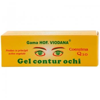 Gel contur ochi cu Coenzima Q10 - Viodana, 30 ml